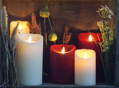 Candles LED (Kunststof & Wachs)