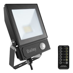 Bild von LED Floodlight Slim 2 Sensor 20W/3000K black IP65